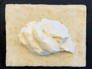 Umplerea blatului cu vanilie