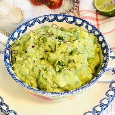 Guacamole mexican, cremos și gustos