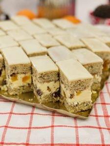 Prăjitura Victoria cu cremă de lămâie