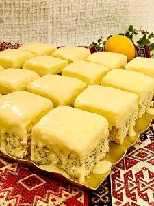 Prăjitură cu lămâie și cremă de mascarpone cu ciocolată albă