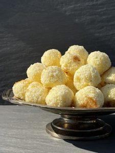Biscuiți Mojito cu lime și cocos
