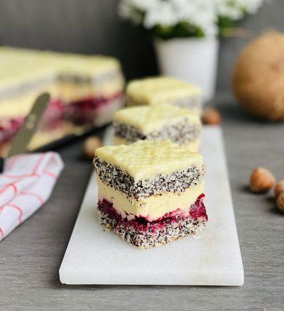 Prăjitura Cherry Dama cu vișine