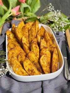 Cartofi copți în crustă de mălai